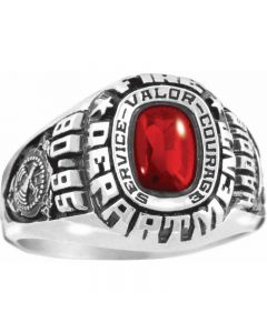 Women's Patriot Service Military Ring