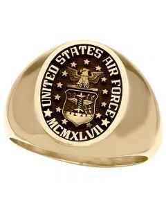 Men's Military Signet Ring
